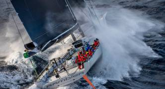 Rambler 88 takes Line Honours at the Rolex Middle Sea Race