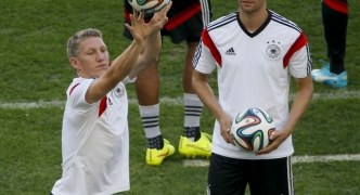 BRAZIL v GERMANY: Fit-again Schweinsteiger is ready to deliver for Germany