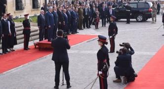 [WATCH] Joseph Muscat welcomes Turkish counterpart