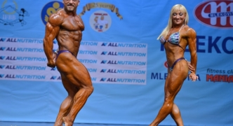 Silver medal for Decelis and Coppola at the 2016 Mixed Pairs IFBB World Fitness Championships