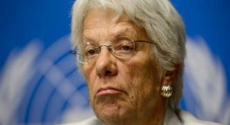 UN Syria investigator Carla del Ponte quits over lack of political backing