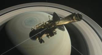 NASA: Cassini spacecraft falls silent after plunge towards Saturn