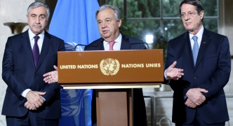 Cyprus reunification talks stall over security question