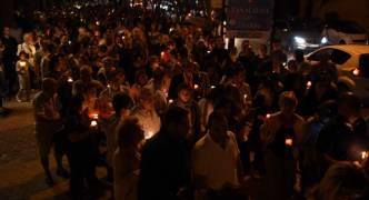 [WATCH] Thousands flock to vigil in honour of Daphne Caruana Galizia
