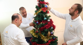 British American Tobacco Malta employees assist the homeless