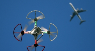 Drone technology used to help farmers identify land in need of more water