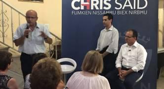 Edwin Vassallo backing Said for PN leader