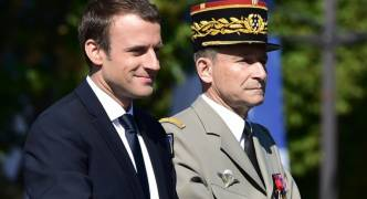 France's military chief resigns after Macron budget spat