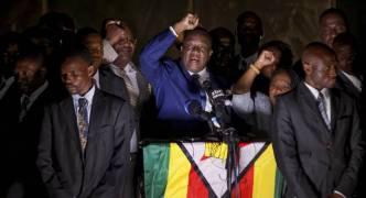 [WATCH] Zimbabwe: Emmerson Mnangagwa sworn in as new president