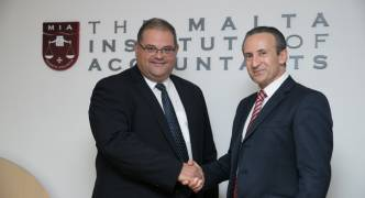 Changeover of President for the Malta Institute of Accountants following the Annual General Meeting