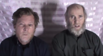 [WATCH] US and Australian hostages beg Trump to negotiate release in Taliban video