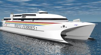 New Virtu Ferries catamaran is largest in the Med, to carry 900 passengers