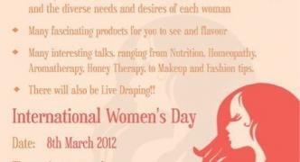 It's Women's Day! Needlework, anyone?