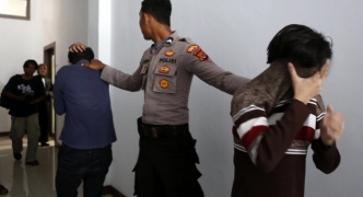 Indonesian police arrest 141 men over 'gay sex party'