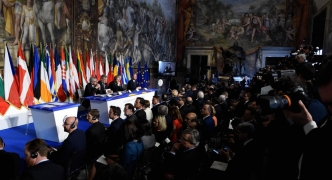 Updated | EU's 60th birthday marked by calls to defend citizens' rights, unity