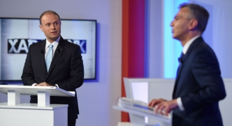 No love lost between leaders during tense broadcast debate