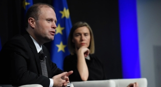 [WATCH] Joseph Muscat, Federica Mogherini lead citizens' dialogue in Rome