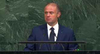 Muscat speech to United Nations: 'No peace while extreme poverty exists'