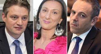 Updated | Mizzi, Schembri to sue Caruana Galizia over money transfer allegations to Panama companies