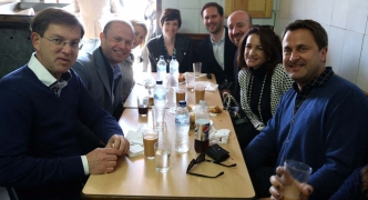 Four prime ministers, nine milky teas and two-dozen Maltese pastizzi please