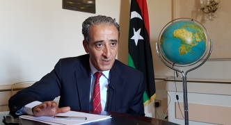 [WATCH] Chargé d'affaires denies reports of 'merger': 'There is only one Libyan embassy'