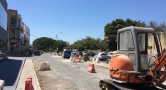 Updated | Borg says Lija roadworks will reduce traffic congestion • Herrera promises more trees will be planted