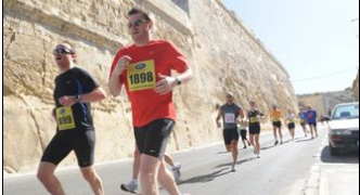 Final preparations for the 30th Vodafone Malta Marathon 2015