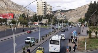 Syria accuses Israel of firing rockets at air base near Damascus