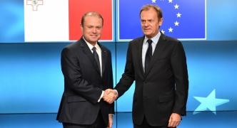 Tusk, Muscat discuss preparations for Malta Summit