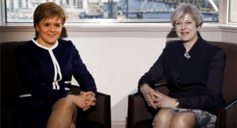 May meets Sturgeon after blocking Scotland's second independence referendum
