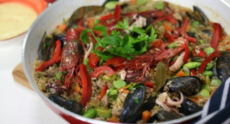 A Maltese take on Spanish paella