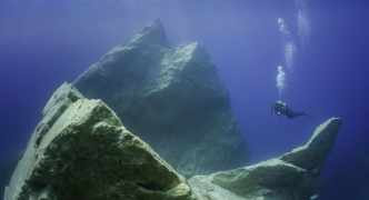 Stunning image of submerged Azure Window gives Dwejra top billing for scuba diving