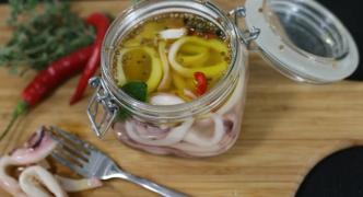 Pickled calamari