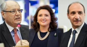 The race is on: Helena Dalli, Edward Scicluna and Chris Fearne submit nominations