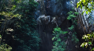 Caving in Phong Nha, Vietnam