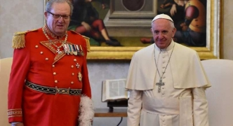 Former Knights of Malta head to defy Vatican order to skip successor's election