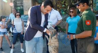 Parliamentary Secretary Clint Camilleri attends symbolic animal rights walk