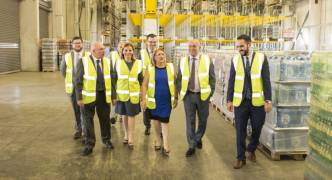 President Coleiro Preca visits General Soft Drinks premises