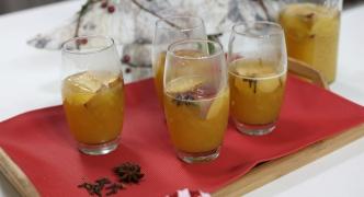Roasted apple cider punch