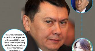 Dissident's widow loses bid to stop Malta assisting Kazakhs