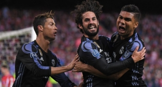 UEFA Champions League | Atletico Madrid 2 - Real Madrid 1