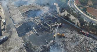 Burnt down Sant'Antnin recycling shed to be rebuilt