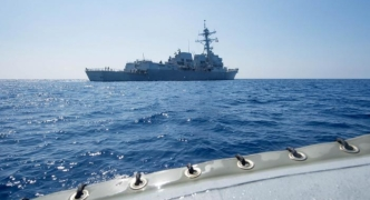 US warship tests Beijing claims in South China Sea