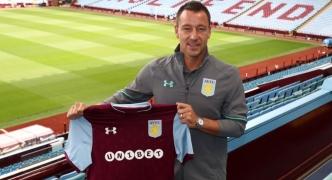 John Terry to captain Aston Villa