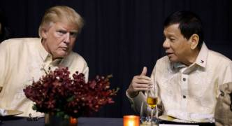 Meeting between Trump and Philippines president Duterte barely touches on 'human rights'