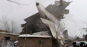 Turkish cargo jet crash kills at least 30 in Kyrgyzstan