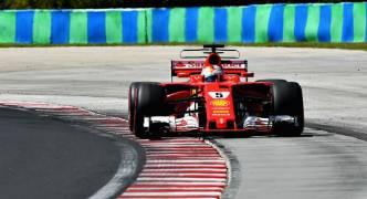 Sebastian Vettel on pole for Hungarian Grand Prix