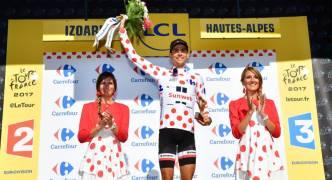 Tour de France 2017: Warren Barguil wins on Izoard as Chris Froome maintains control