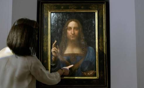 [WATCH] Lost Leonardo da Vinci painting sells for $450 million