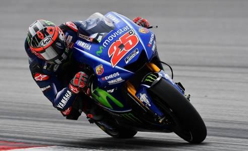 Vinales wins pole at Aragon